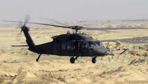 В США разбился военный вертолет: три пилота погибли