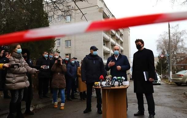 Пожар в Запорожье: Степанов приехал на место трагедии