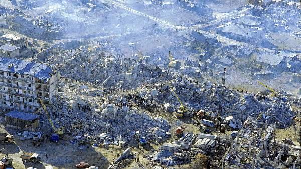 Недалеко от Еревана произошло мощное землетрясение