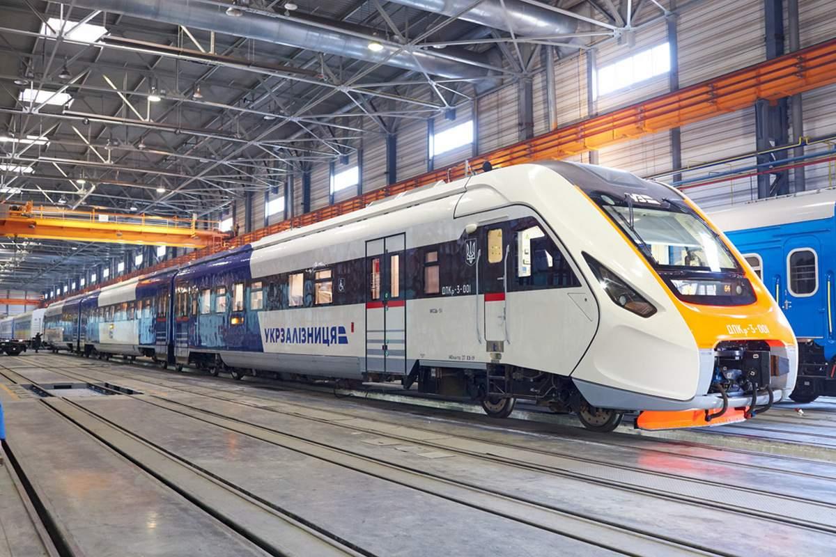 В Украине построят высокоскоростную ж/д ветку