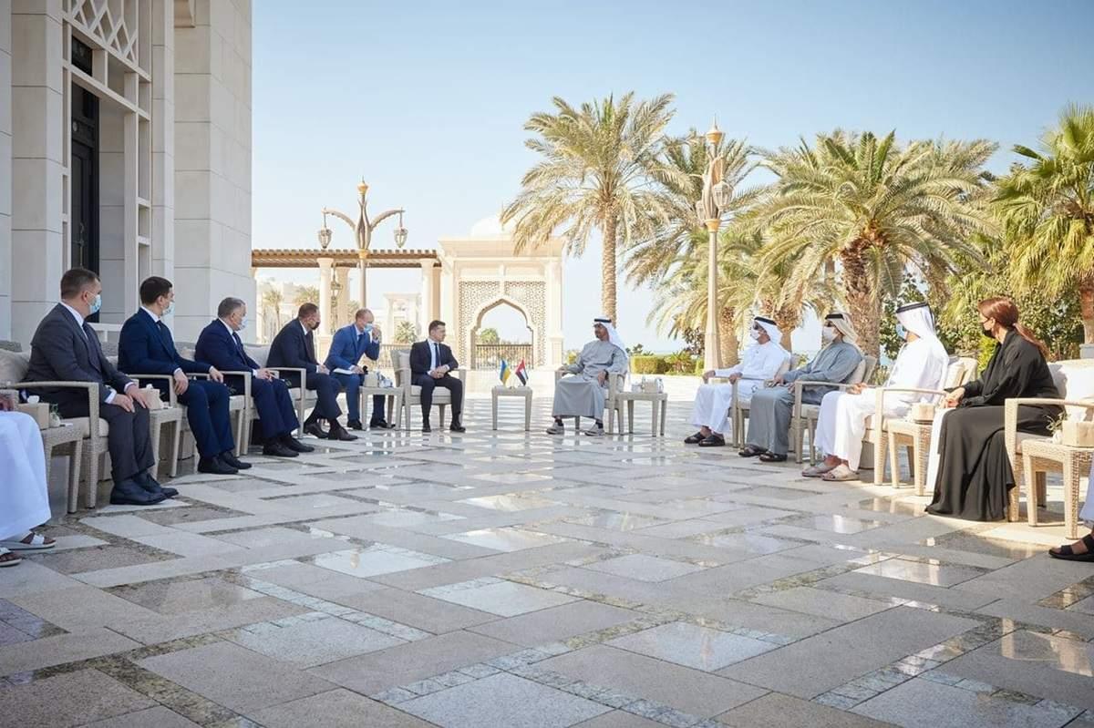 Зеленский встретился с принцем Абу-Даби: что обсуждали (ФОТО)