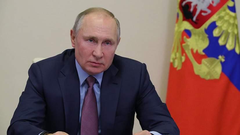 Путин заявил, что не бросит украинский Донбасс