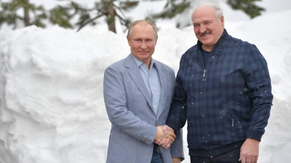 Путин предложил Лукашенко покататься на лыжах в Сочи (ВИДЕО)