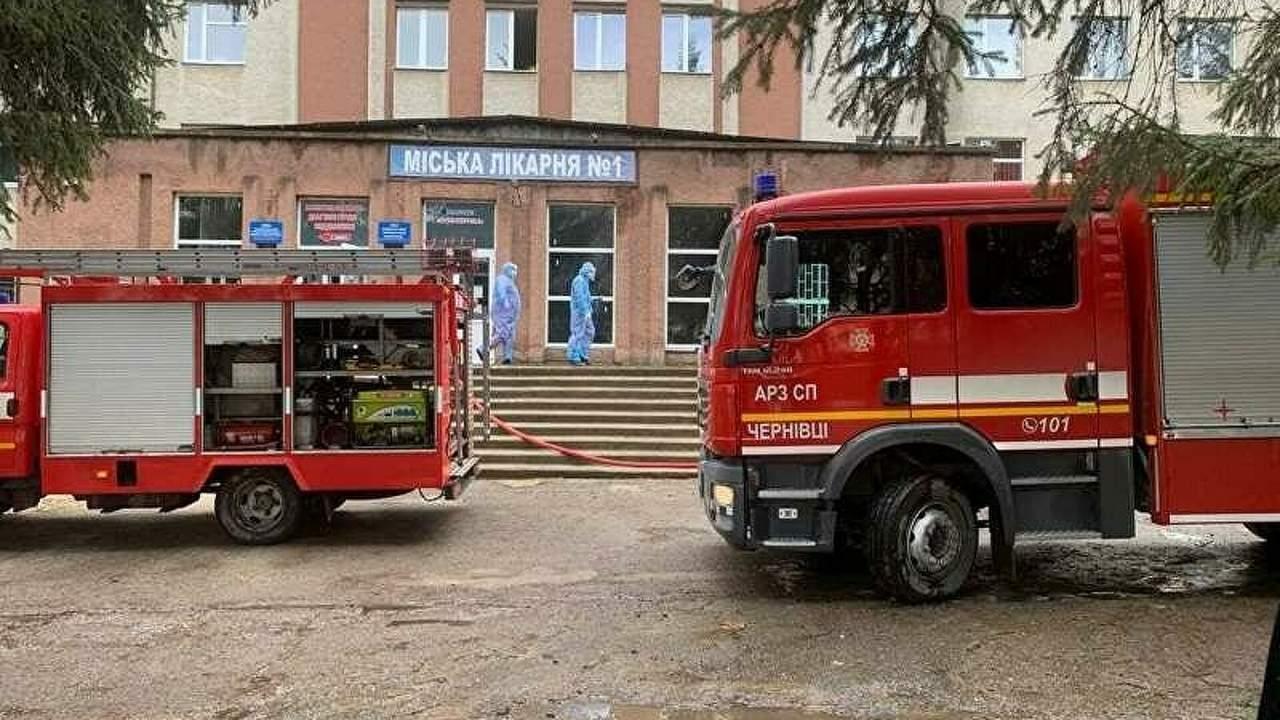 В Черновцах прогремел взрыв в городской больнице: есть жертва